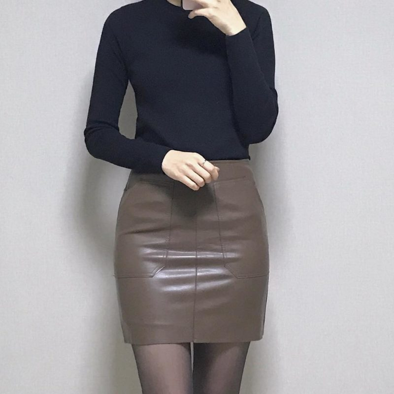 Faldas 2019- perfecta combinacion de falda y blusa