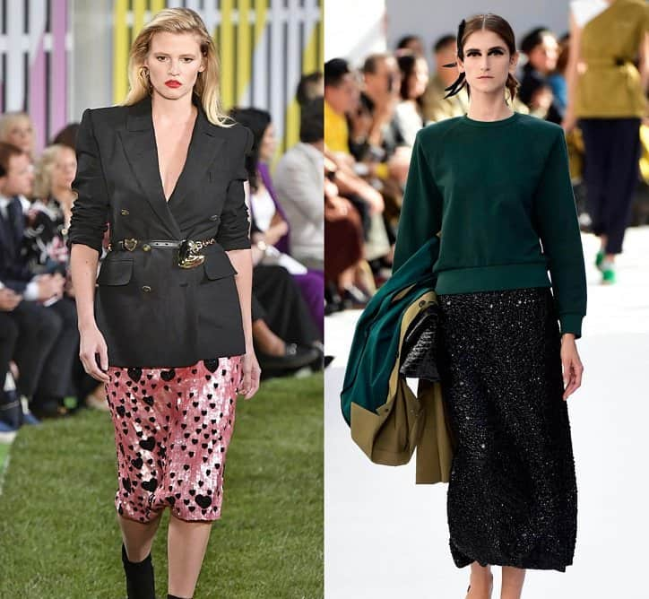 Faldas 2019- modelos que representan las casa de moda