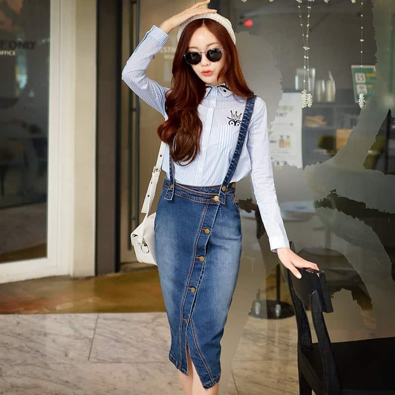 Faldas 2019- estilo muy moderno para las chicas muy de moda
