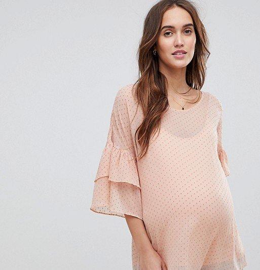 Moda para embarazadas 2019- tendencias para las mujeres muy de moda