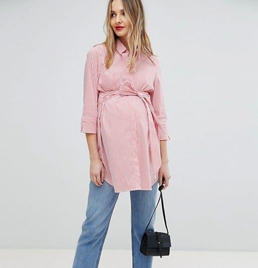 Moda para embarazadas 2019- estilo de moda para primavera