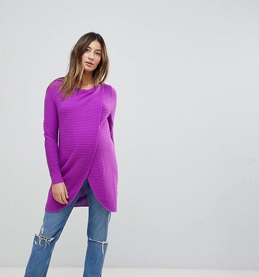 Moda para embarazadas 2019- colores que se ven muy ricos