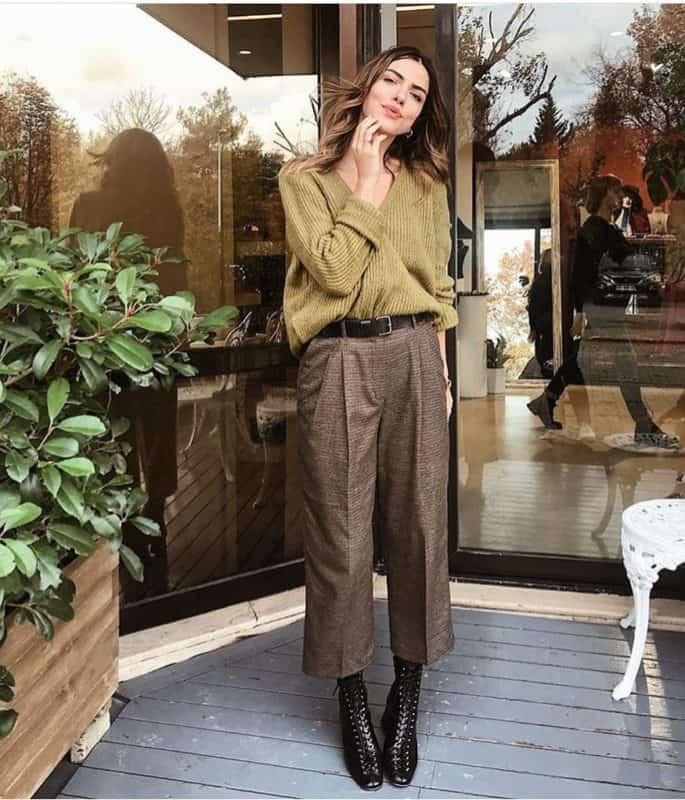 Pantalones de mujer 2019- algunas ideas de moda femenina
