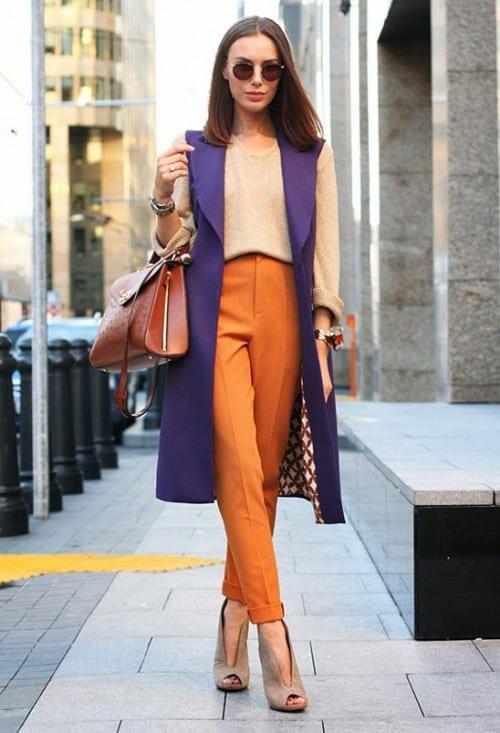 Pantalones de mujer 2019- colores de moda para los pantalones