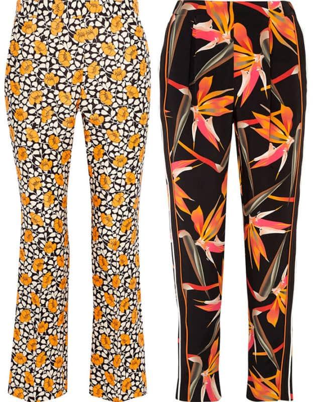 Pantalones de mujer 2019- estampadas muy de moda para las mujeres