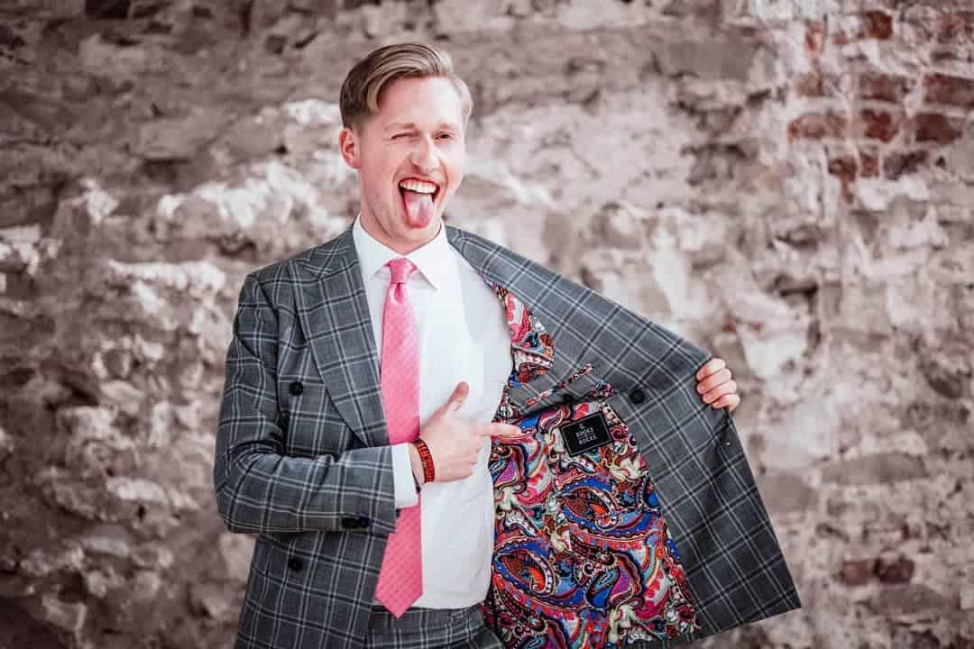 Trajes de hombre 2019 - uso de un monton de colores