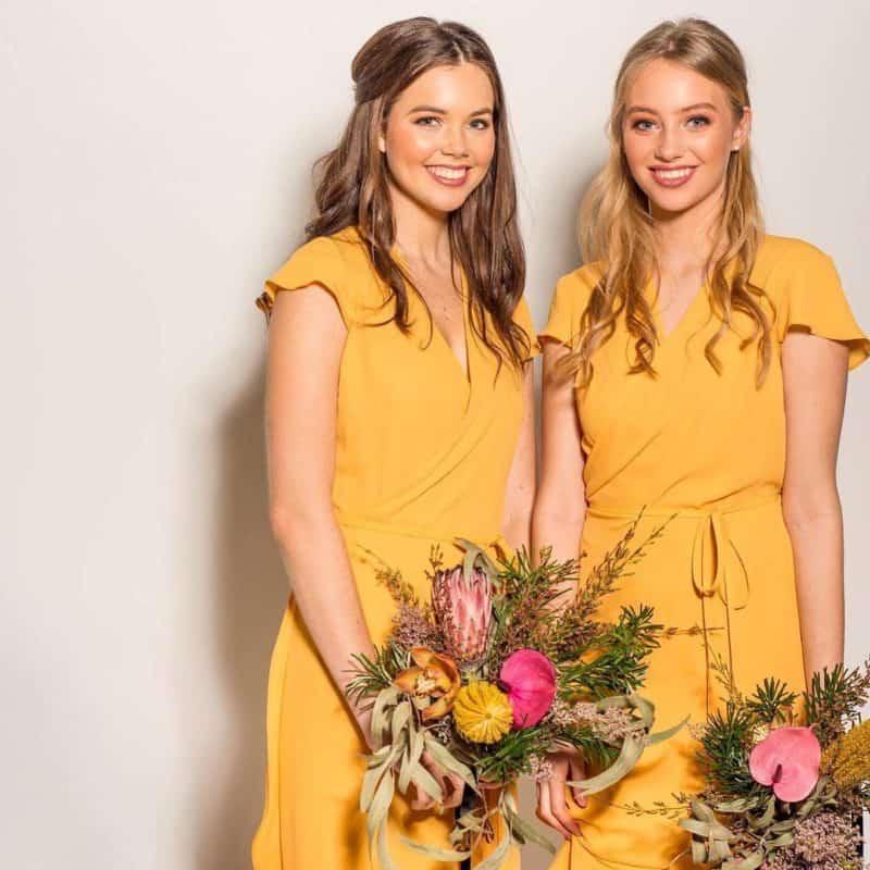 Vestidos de novia 2019- color amarillo esta en tendencia