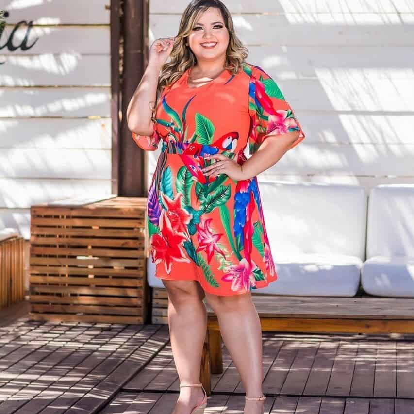 Vestidos tallas grandes 2019- ideas de moda femenina