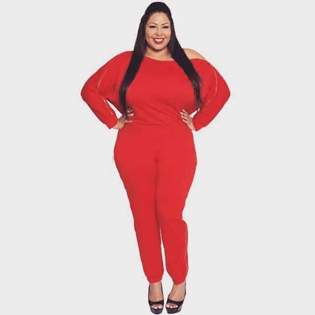Vestidos tallas grandes 2019- color rojo para las mujeres