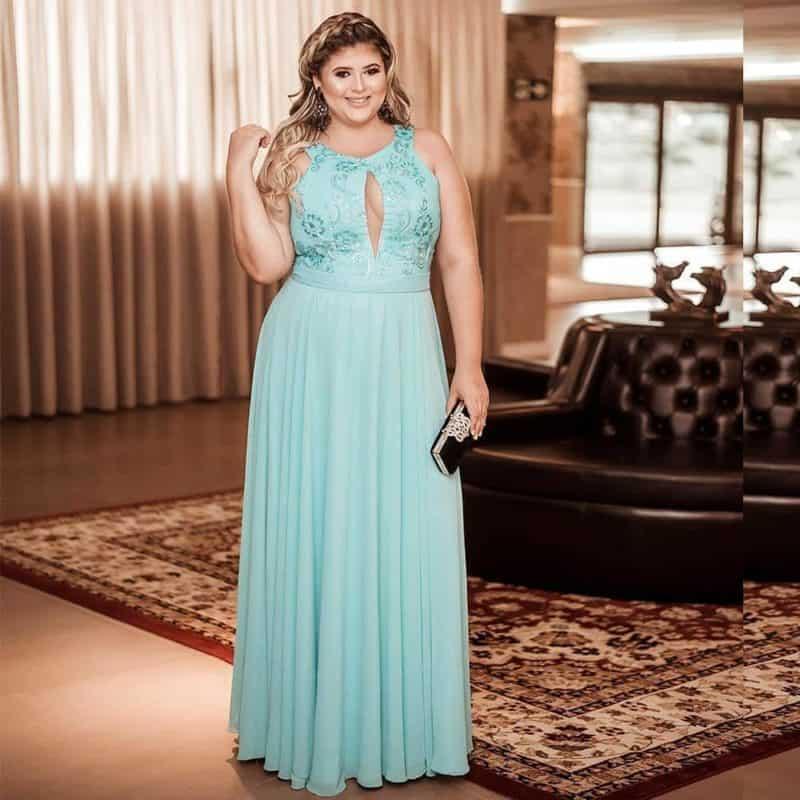 Vestidos tallas grandes 2019- algunas ideas de moda femenina