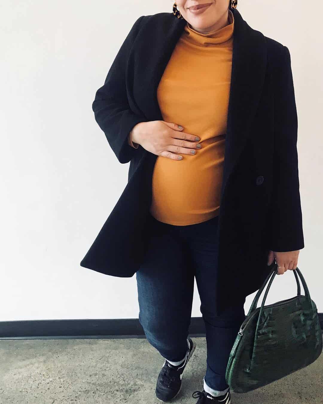 vestidos-de-embarazada-2019