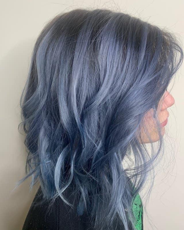 Pelo-denim-Color-de-pelo-de-fantasía-para-las-mujeres-contemporáneas